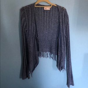 Sweater with fringe. From South Moon Under